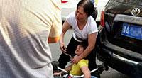 郑州交警开宝马车撞死婴儿被刑拘